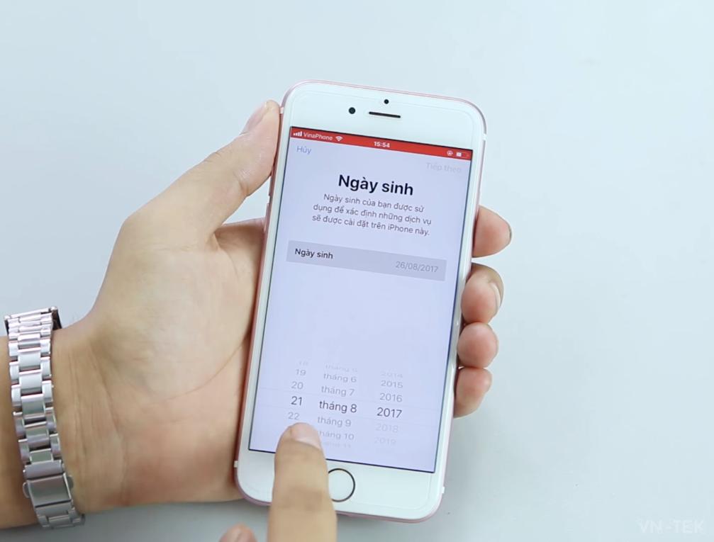 huong dan tao apple id 3 - Hướng dẫn tạo ID Apple không cần Gmail, Visa, MasterCard