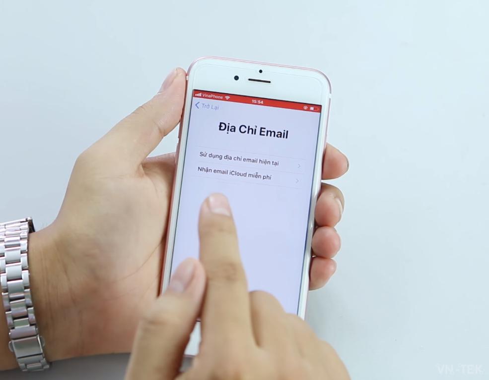huong dan tao apple id 5 - Hướng dẫn tạo ID Apple không cần Gmail, Visa, MasterCard