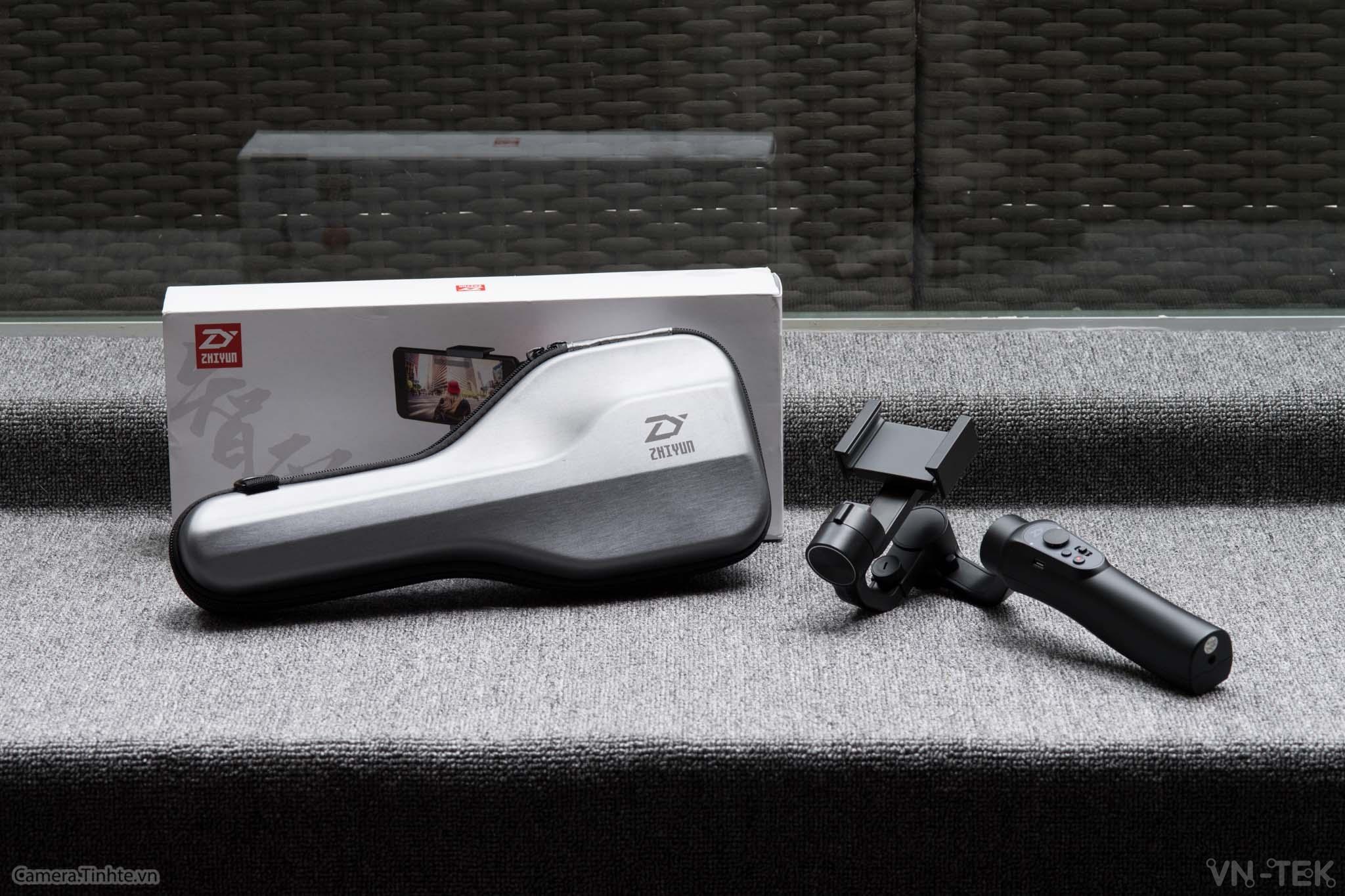 zhiyun smooth q1 - Gimbal Smooth Q - Tay cầm chống rung 3 trục cho smartphone và camera hành động