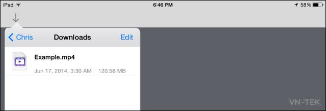 chia se thu muc 10 - Truy cập thư mục trên máy Windows từ điện thoại