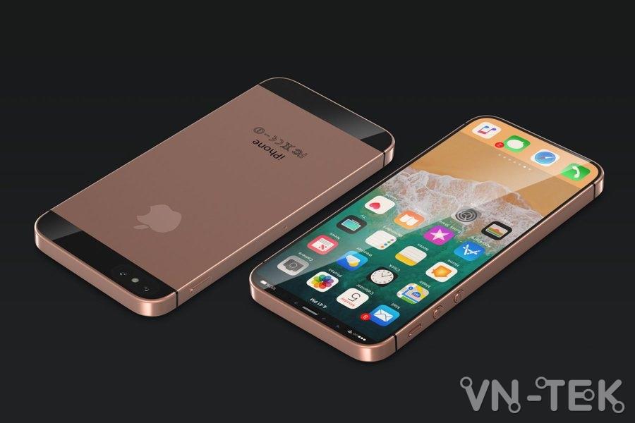 iPhone SE Plus - iPhone SE Plus đẹp tới nỗi iPhone X cũng không phải đối thủ