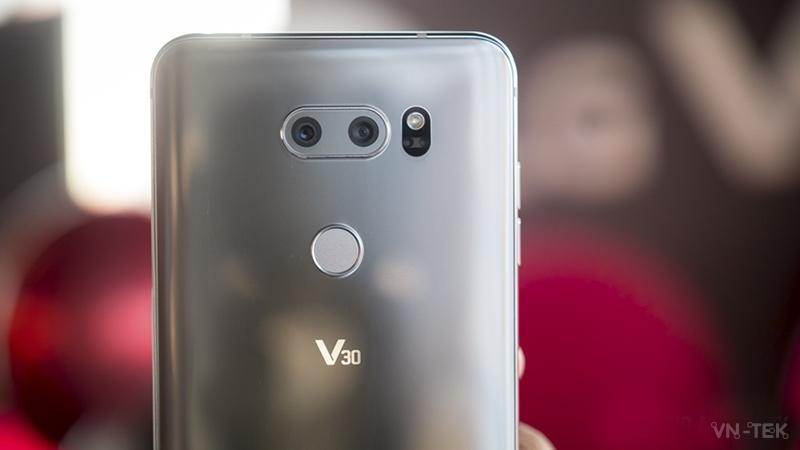 lg v30 3 - IFA 2017 - Trên tay LG V30 quá tuyệt vời