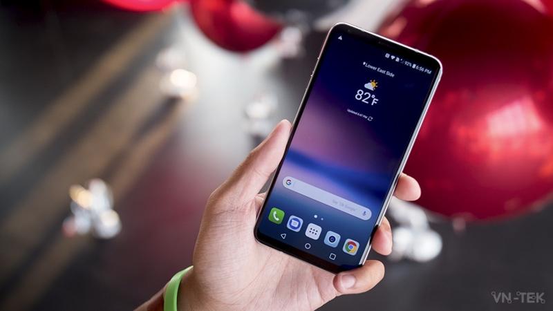 lg v30 - IFA 2017 - Trên tay LG V30 quá tuyệt vời