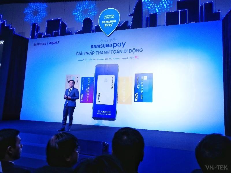 samsung pay 1 - Samsung Pay cho phép dùng điện thoại thay thẻ ATM