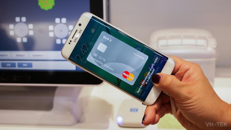 samsung pay - Samsung Pay cho phép dùng điện thoại thay thẻ ATM