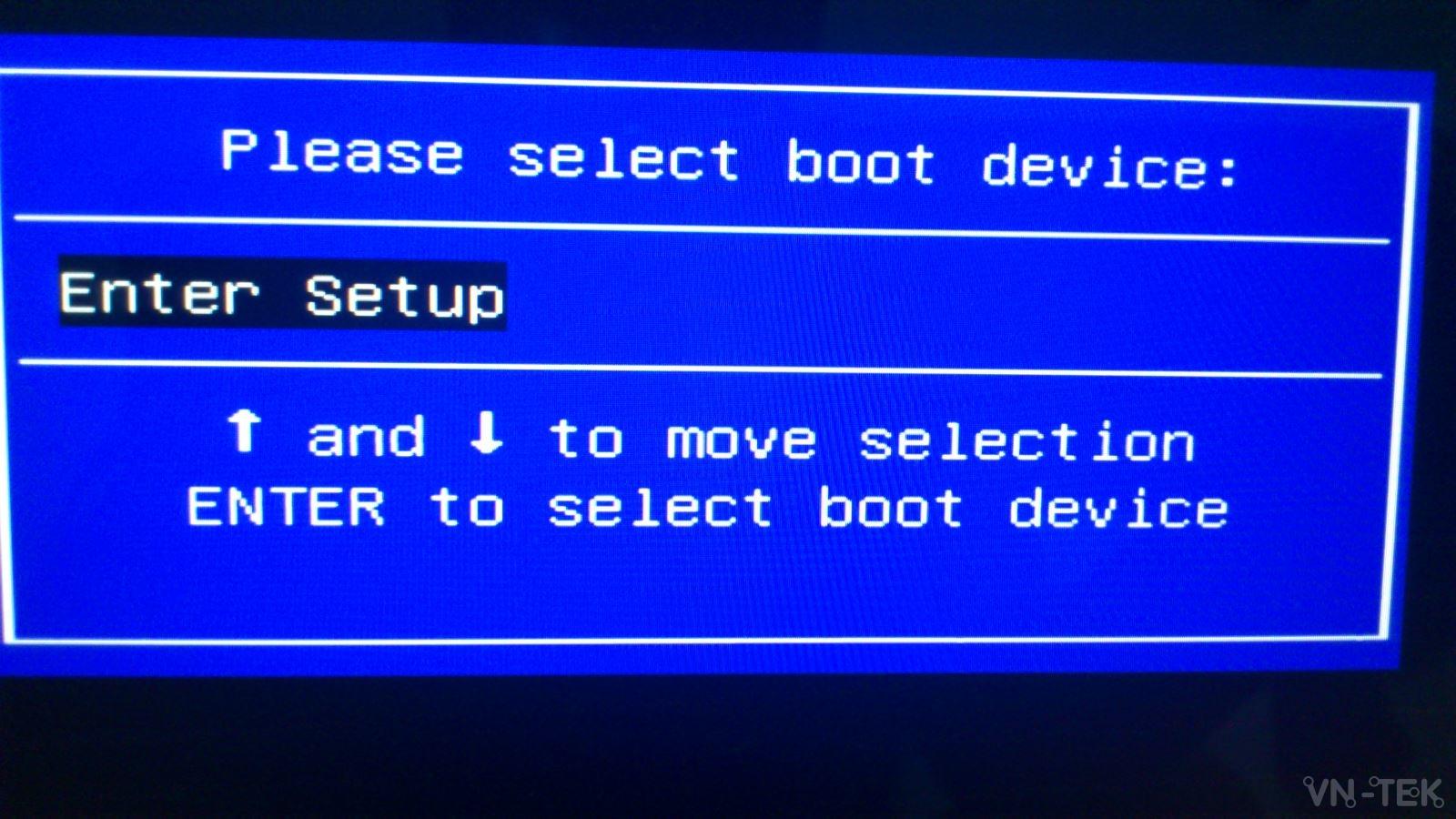 sua loi khong nhan usb boot asus 1 - Khắc phục laptop ASUS không nhận được USB boot