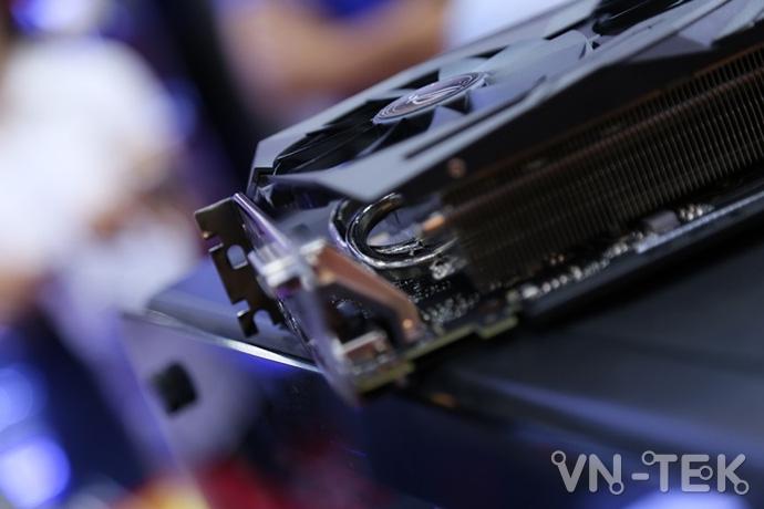 gtx 1070 ti 12 - Đập hộp chiếc VGA GTX 1070 Ti đầu tiên xuất hiện tại Việt Nam
