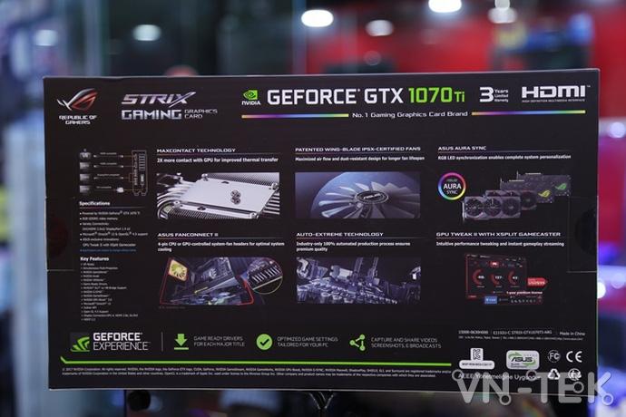 gtx 1070 ti 3 - Đập hộp chiếc VGA GTX 1070 Ti đầu tiên xuất hiện tại Việt Nam