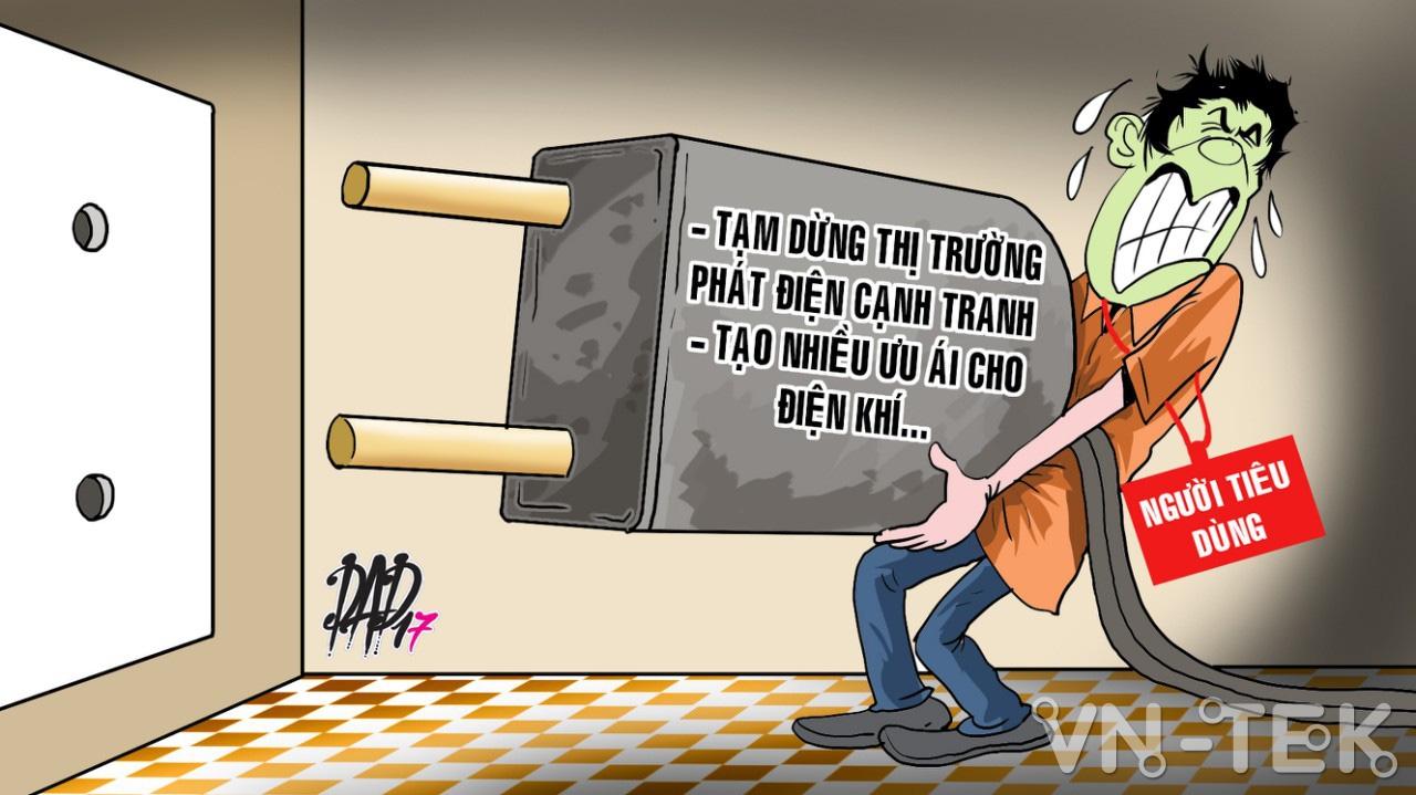 tam dung phat dien canh tranh - Giá điện sẽ tăng vô lý nếu dừng thị trường phát điện cạnh tranh