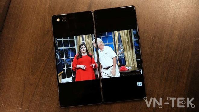 zte axon m 4 - Trải nghiệm smartphone 2 màn hình gập ZTE Axon M độc lạ
