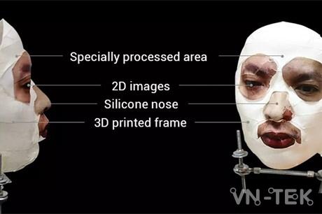 bkav danh lua face id 1 - Mặt nạ Bkav đánh lừa Face ID trên iPhone X có giá 3,4 triệu