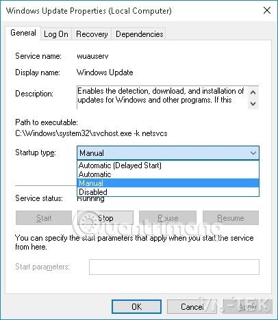 windows 10 manual - Hướng dẫn tắt update Windows 10 chặn tự động cập nhật vĩnh viễn