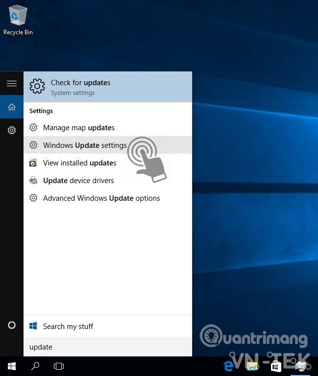 windows 10 update 02 - Hướng dẫn tắt update Windows 10 chặn tự động cập nhật vĩnh viễn