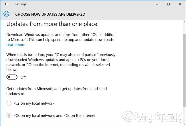 windows 10 update 03 - Hướng dẫn tắt update Windows 10 chặn tự động cập nhật vĩnh viễn