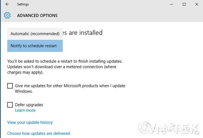 windows 10 - Hướng dẫn tắt update Windows 10 chặn tự động cập nhật vĩnh viễn