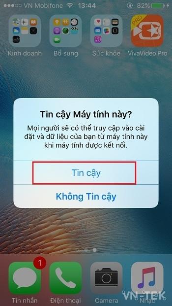 xac minh tin cay tren ios - Download iTunes và iTools hỗ trợ mới nhất cho iOS 10, iOS 11