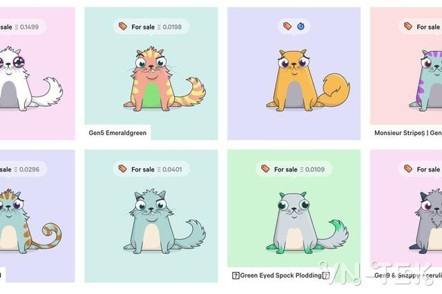cryptokitties 1 - Nuôi mèo ảo CryptoKitties một con có thể bán với giá 2,5 tỷ đồng