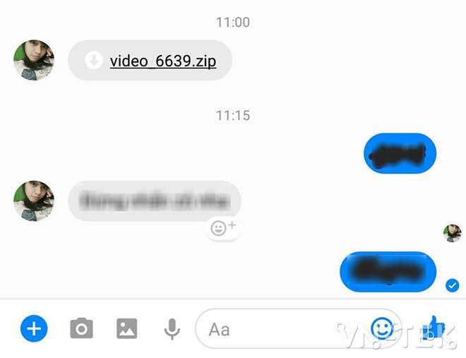 ma doc video xxxx 2 - Mã độc mới lây lan chóng mặt trên Facebook Messenger ở VN