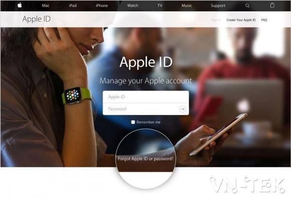 tao id apple tren may tinh - Hướng dẫn tạo ID Apple trên máy tính hoàn toàn miễn phí