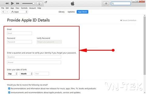 tao id apple tren may tinh 10 - Hướng dẫn tạo ID Apple trên máy tính hoàn toàn miễn phí