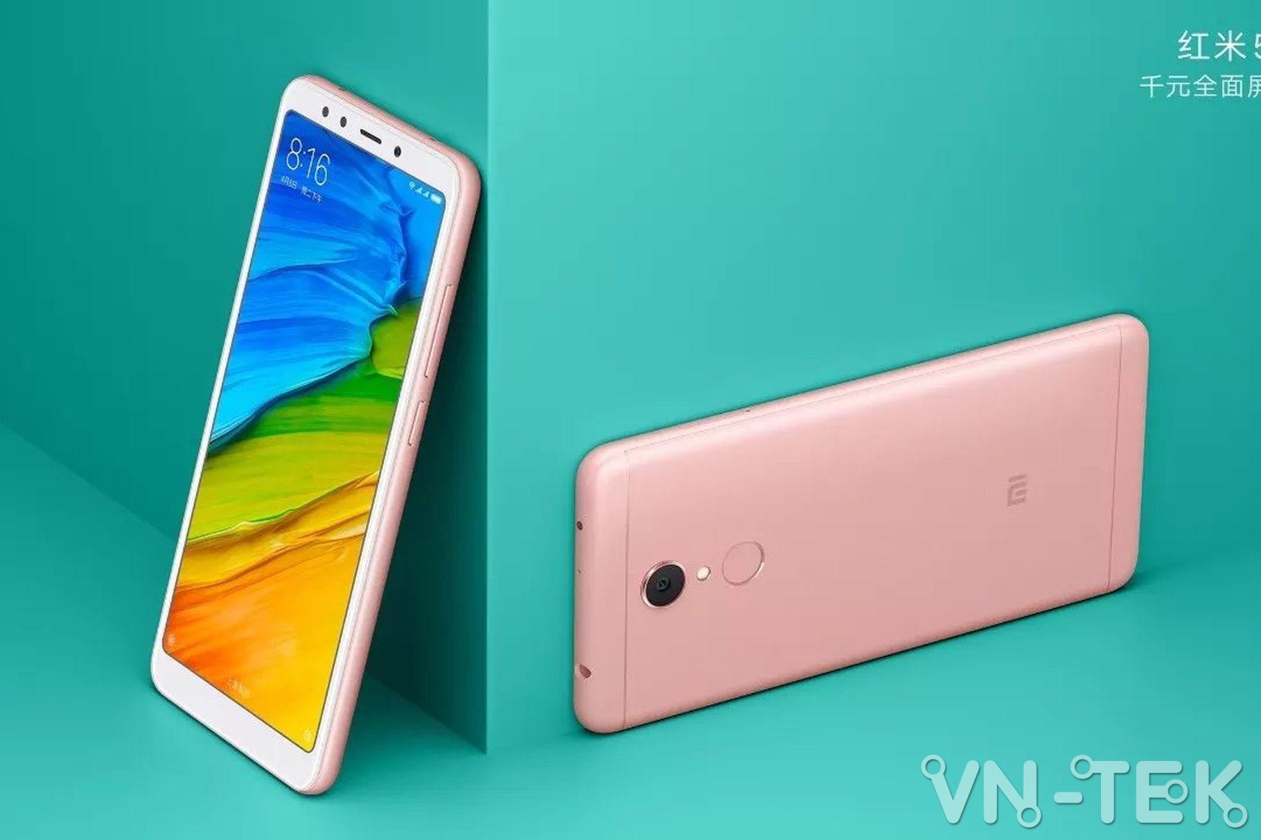xiaomi redmi 5 plus 1 - Xiaomi Redmi 5 Plus màn hình 18:9 viền mỏng ra mắt, giá từ 120 USD