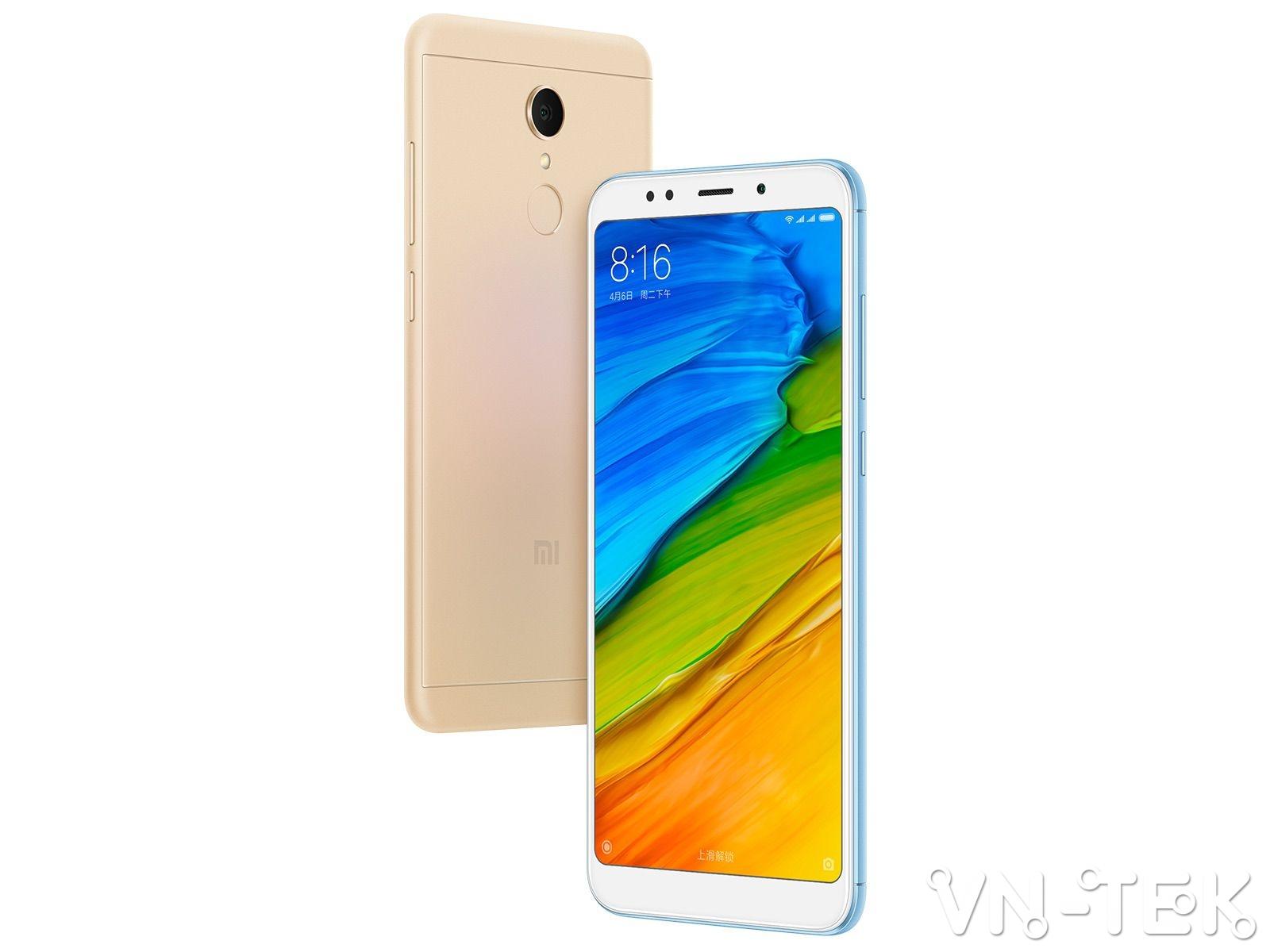 xiaomi redmi 5 plus 2 - Xiaomi Redmi 5 Plus màn hình 18:9 viền mỏng ra mắt, giá từ 120 USD