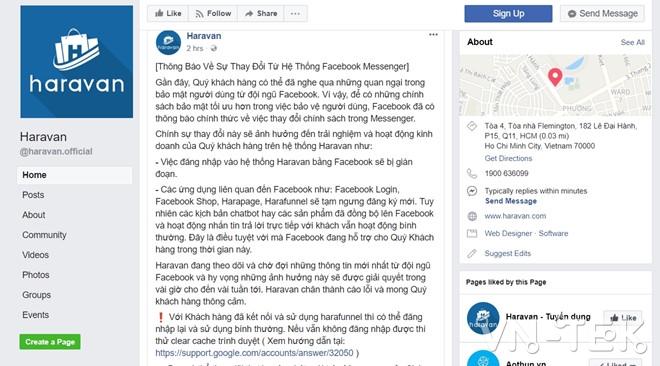 facebook dong api vn 1 - Facebook đóng API các app ở VN, giới công nghệ náo loạn