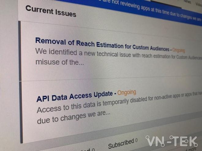 facebook dong api vn 3 - Facebook đóng API các app ở VN, giới công nghệ náo loạn
