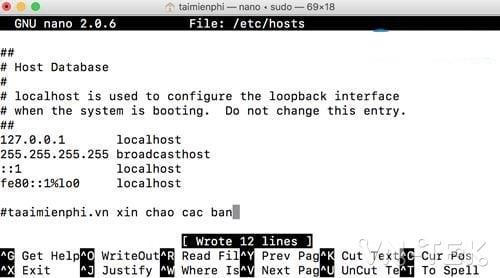cach chinh sua file hosts tren mac 8 - Hướng dẫn cách chỉnh sửa file Hosts trên Mac OS