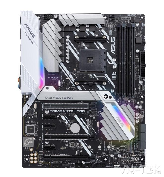 mainboard asus 3 - ASUS ra mắt dòng sản phẩm bo mạch chủ AMD X470 Series