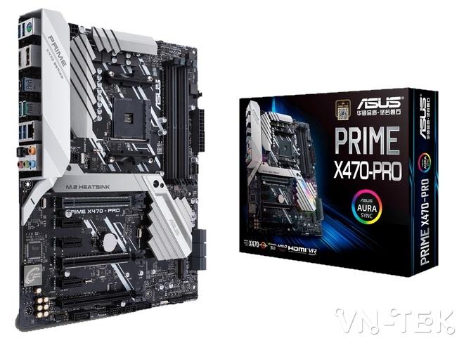 mainboard asus 6 - ASUS ra mắt dòng sản phẩm bo mạch chủ AMD X470 Series