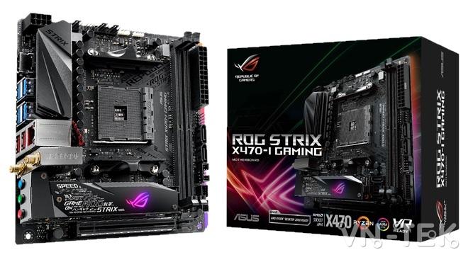 mainboard asus 7 - ASUS ra mắt dòng sản phẩm bo mạch chủ AMD X470 Series