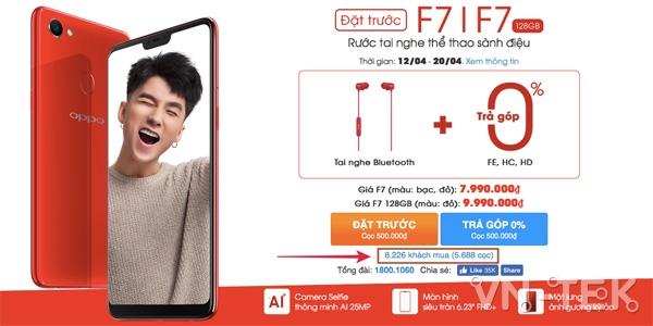 oppo f7 5 - Sức hút khiến OPPO F7 đạt 16.000 đơn chỉ trong 3 ngày đầu đặt hàng