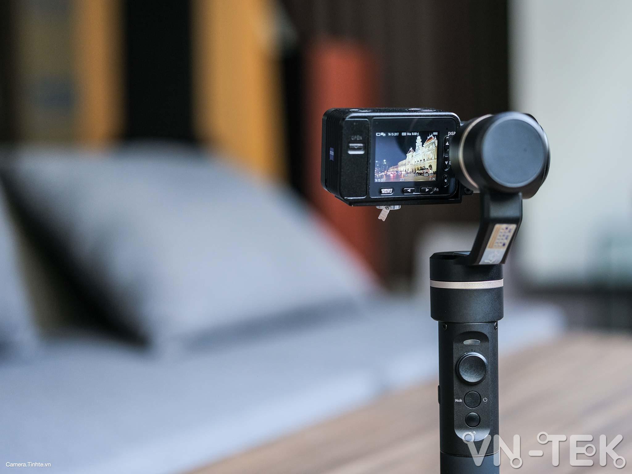 gimbal feiyu g5 1 - Trên tay và trải nghiệm Gimbal Feiyu G5 bản mod cho Sony RX0