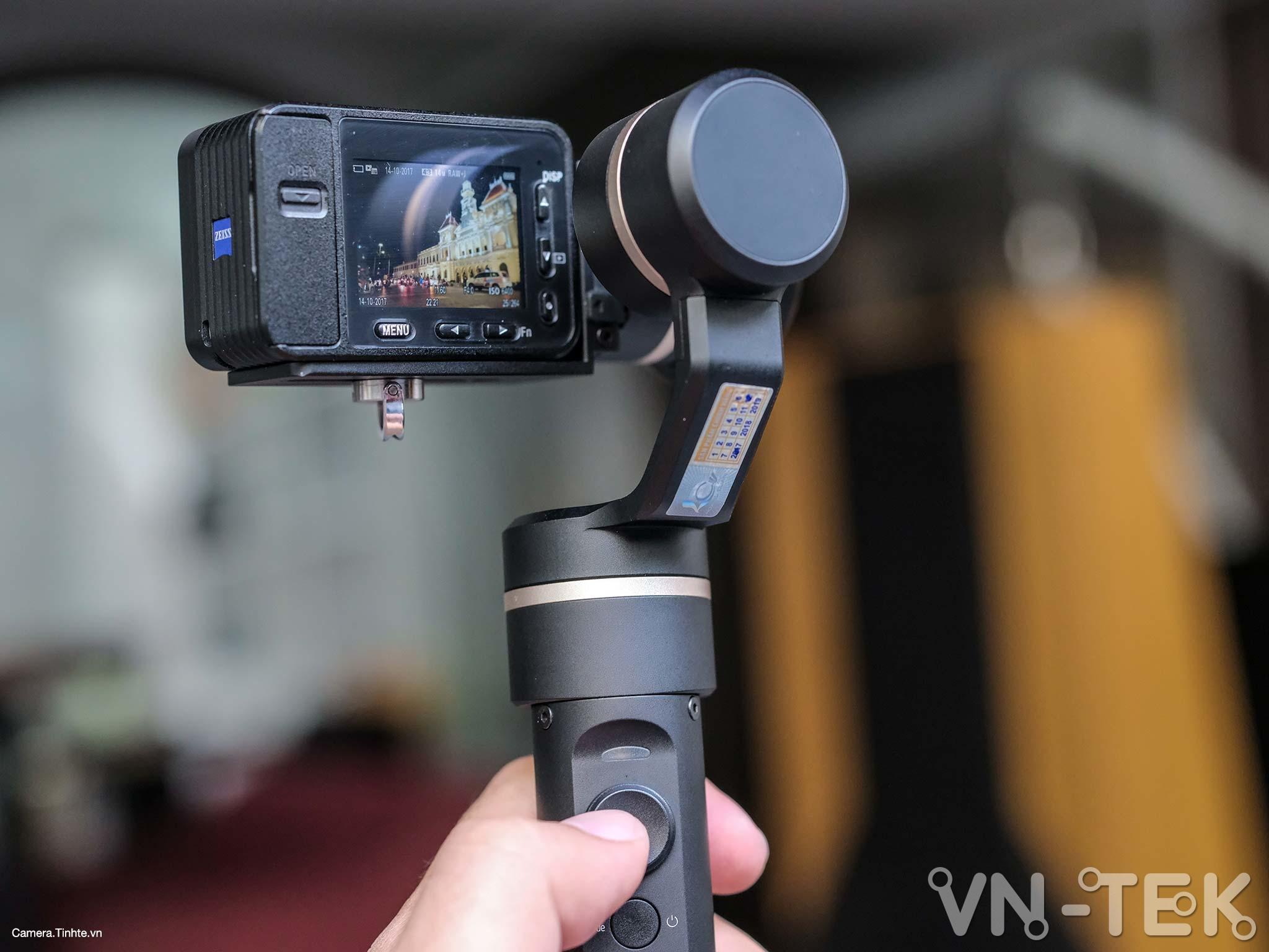 gimbal feiyu g5 13 - Trên tay và trải nghiệm Gimbal Feiyu G5 bản mod cho Sony RX0