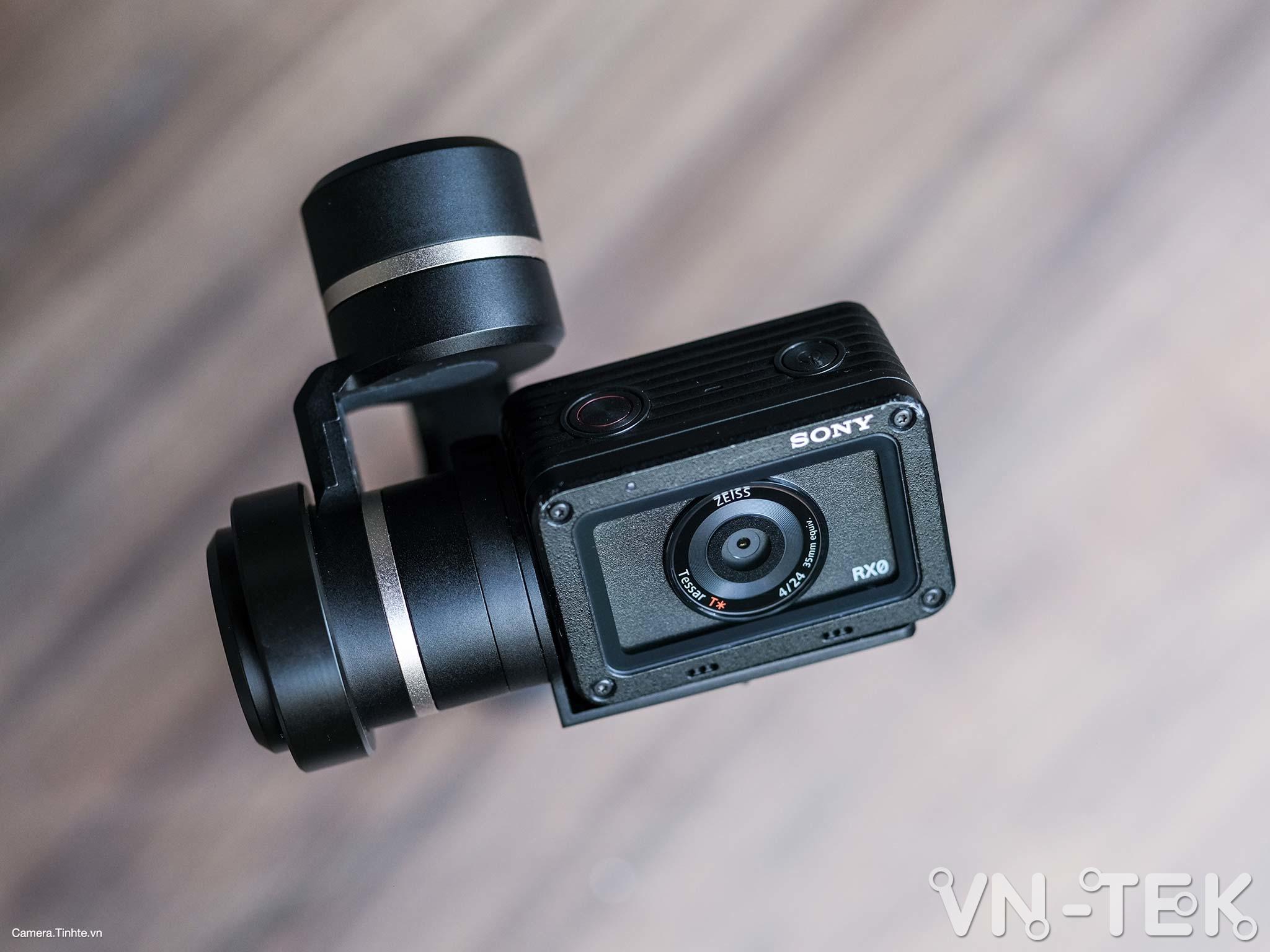 gimbal feiyu g5 15 - Trên tay và trải nghiệm Gimbal Feiyu G5 bản mod cho Sony RX0