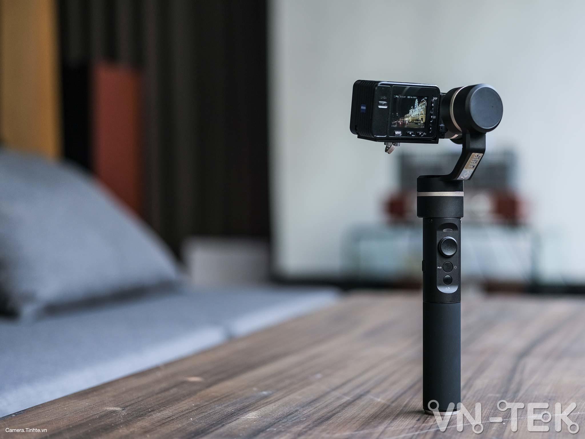 gimbal feiyu g5 16 - Trên tay và trải nghiệm Gimbal Feiyu G5 bản mod cho Sony RX0