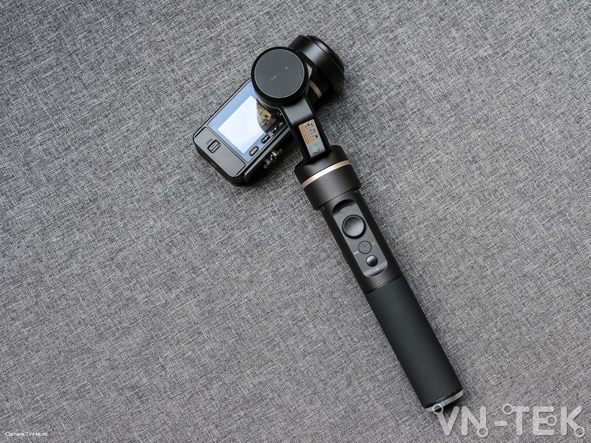 gimbal feiyu g5 17 - Trên tay và trải nghiệm Gimbal Feiyu G5 bản mod cho Sony RX0