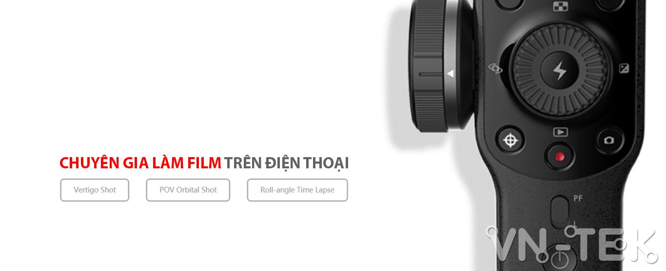 gimbal smooth 4 info 1 - Đánh giá gimbal Zhiyun Smooth 4 cho điện thoại di dộng và GoPro