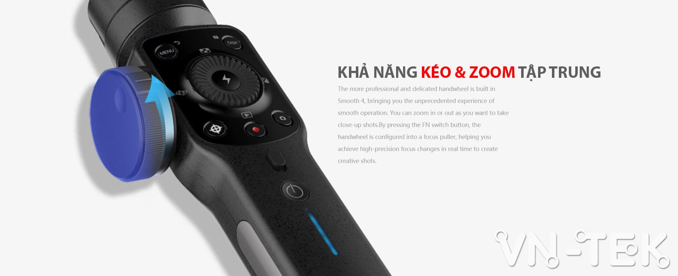 gimbal smooth 4 info 2 - Đánh giá gimbal Zhiyun Smooth 4 cho điện thoại di dộng và GoPro