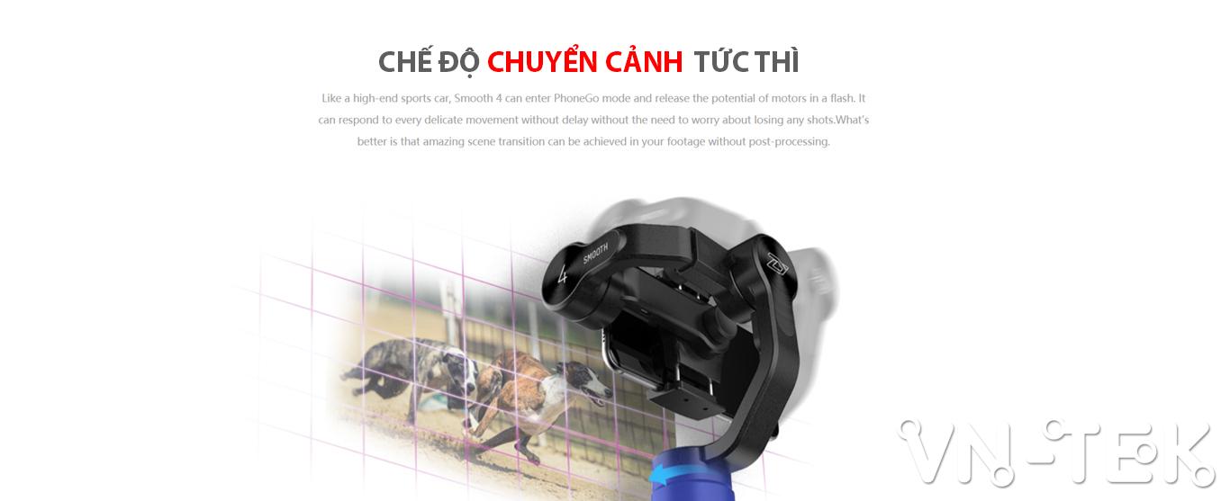 gimbal smooth 4 info 3 - Đánh giá gimbal Zhiyun Smooth 4 cho điện thoại di dộng và GoPro