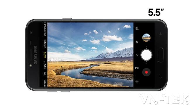 samsung galaxy j4 len ke tai viet nam gia 379 trieu dong sam 3 - Samsung Galaxy J4 lên kệ tại Việt Nam, giá 3,79 triệu đồng