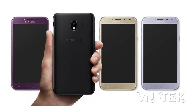 samsung galaxy j4 len ke tai viet nam gia 379 trieu dong sam 4 - Samsung Galaxy J4 lên kệ tại Việt Nam, giá 3,79 triệu đồng