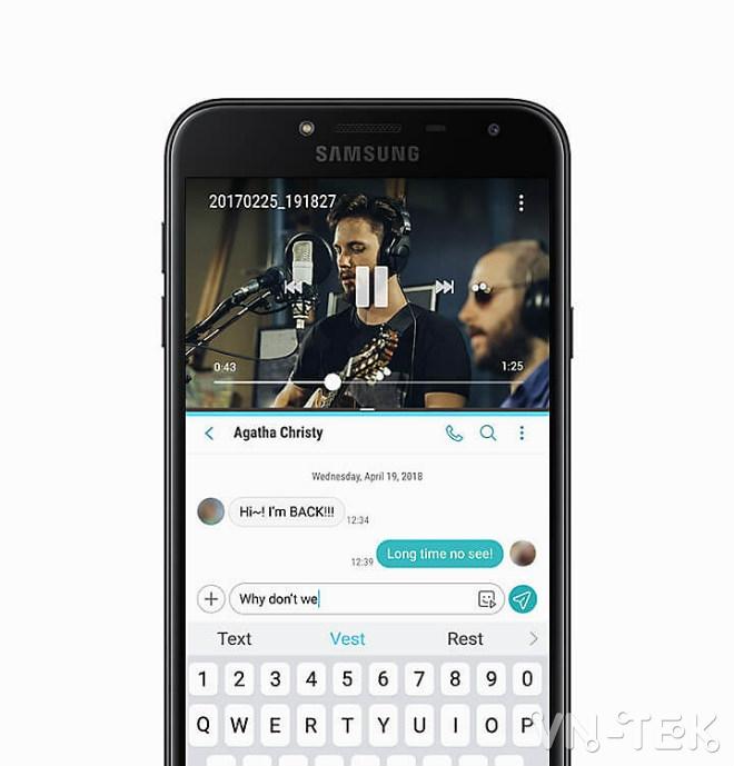 samsung galaxy j4 len ke tai viet nam gia 379 trieu dong sam 6 - Samsung Galaxy J4 lên kệ tại Việt Nam, giá 3,79 triệu đồng
