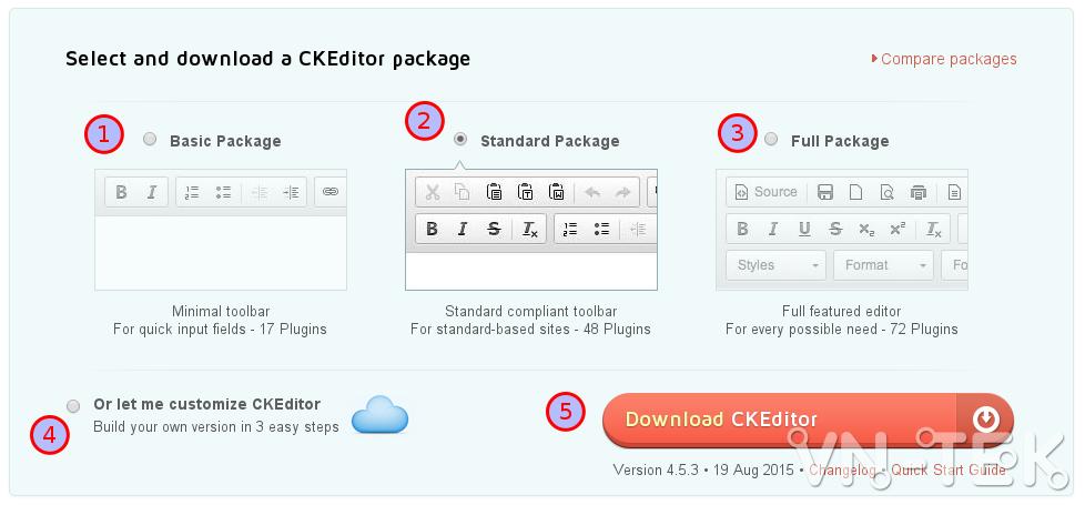 selection 152 - Hướng dẫn cài đặt trình soạn thảo văn bản ckeditor trên website