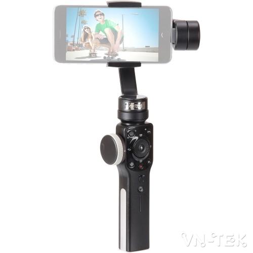 zhiyun smooth4 1 - Đánh giá gimbal Zhiyun Smooth 4 cho điện thoại di dộng và GoPro