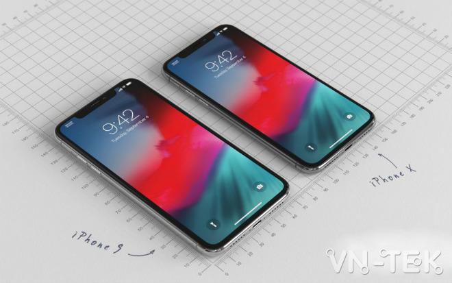 """concept iphone 9 1 - iPhone 9 giá bằng nửa iPhone X đẹp đến nỗi fan """"ngất lịm"""""""
