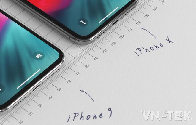 """concept iphone 9 4 - iPhone 9 giá bằng nửa iPhone X đẹp đến nỗi fan """"ngất lịm"""""""