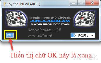 crack navicat thanh cong - Công cụ quản lý CSDL mạnh mẽ Navicat Premium 11.0.5 full crack