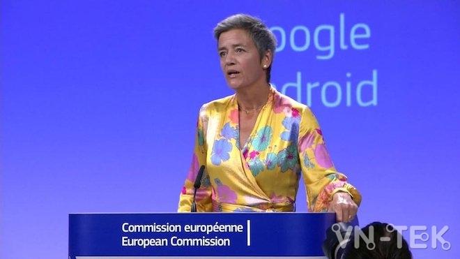 google bi phat 5 ty usd 3 - Google nhận án phạt 5 tỷ USD vì cạnh tranh không lành mạnh